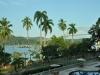 Einfahrt zum Panamakanal mit Bridge of Americas